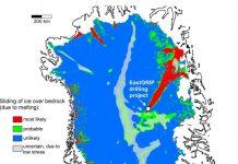 Wissenschaftler der Universität Tübingen untersuchen die Fließgeschwindigkeit des Eises in Nordgrönland – Modelle zur Entwicklung des Meeresspiegels müssen angepasst werden.