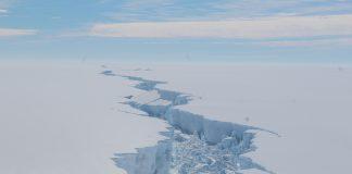 Klimaerwärmung in der Antarktis: Auswirkungen des Zerfalls von Eisschelfen.