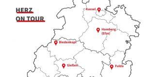Info-Kampagne: Das Herz von Hessen zieht es nach Gießen.