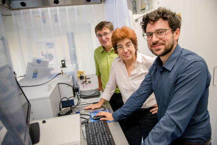 Neue Technik: Wie Ionen Wassermoleküle um sich scharen.