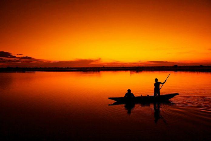 Wasser im Mekongdelta